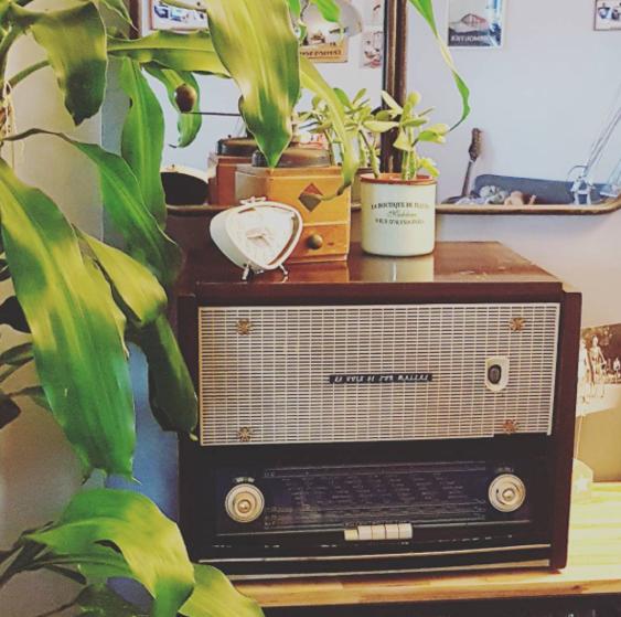 Radio décorative