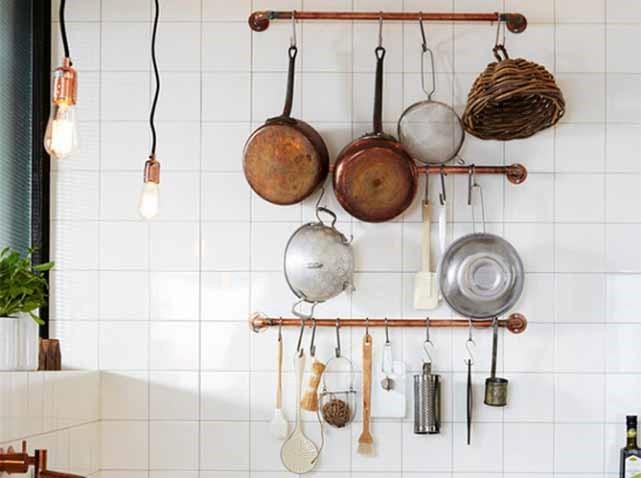 Déco casseroles cuisine