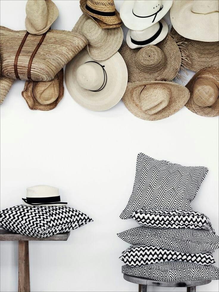 Des chapeaux décoratifs