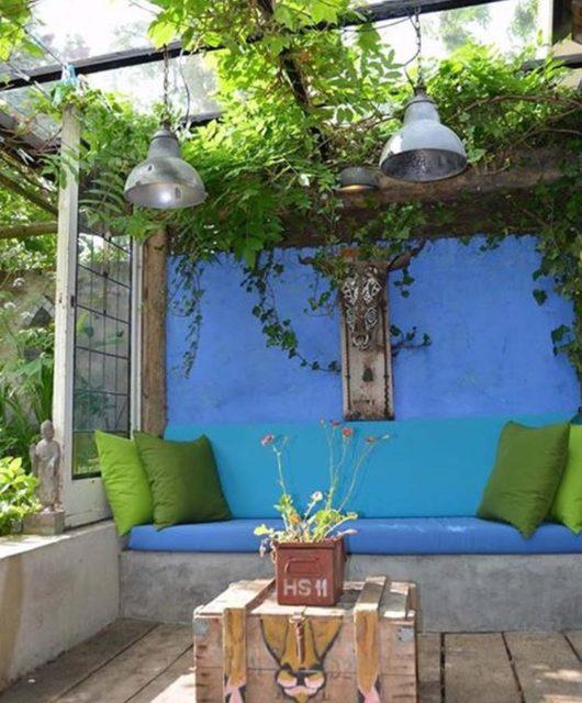 Canapé d'extérieur