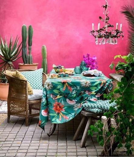 Déco table jardin