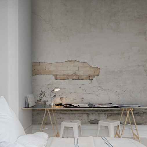 papier peint rough luxe espace de travail