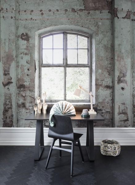 Papier peint rough luxe bureau loft