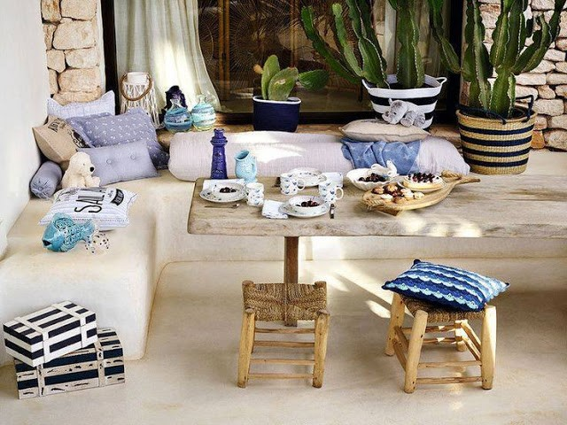 Décoration table jardin