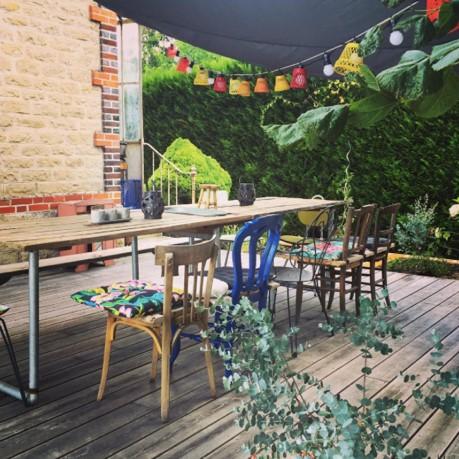 Mobilier de jardin pour décoration de terrasse