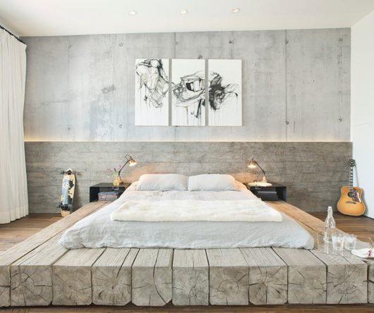chambre décoration wabi-sabi