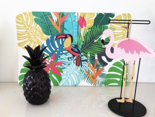 Déco ananas noir