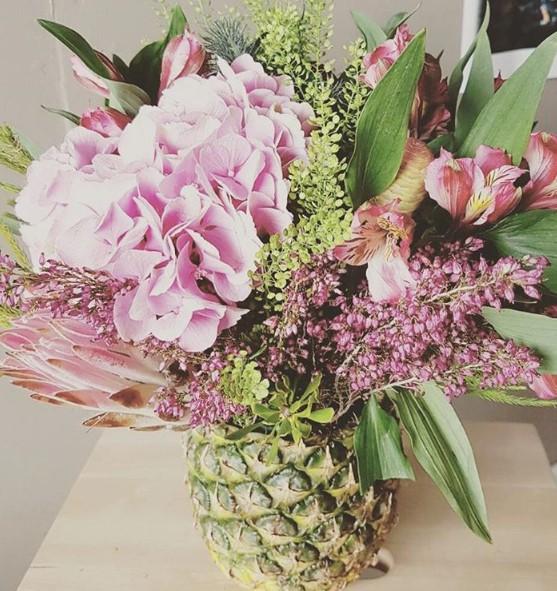 Déco ananas vase DIY