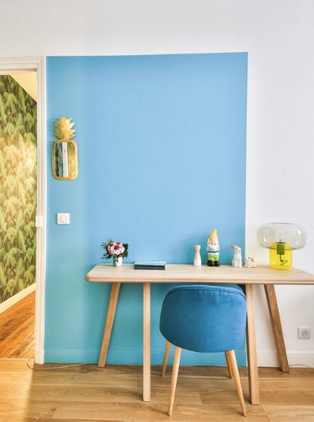 Miroir en forme d'ananas pour décoration