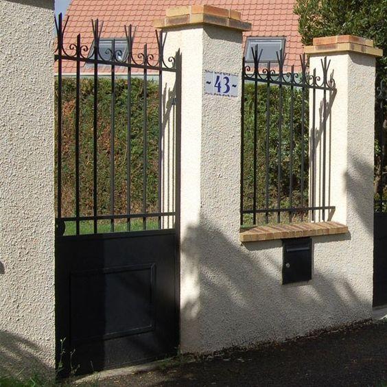 portail-fer-forgé