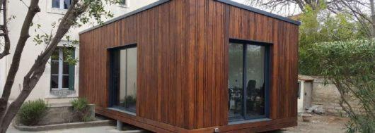 Exemple de maison modulaire